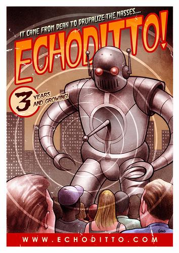 Jason Goad's EchoDitto Poster