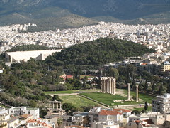 Athens, Greece Zeus Temple 2007