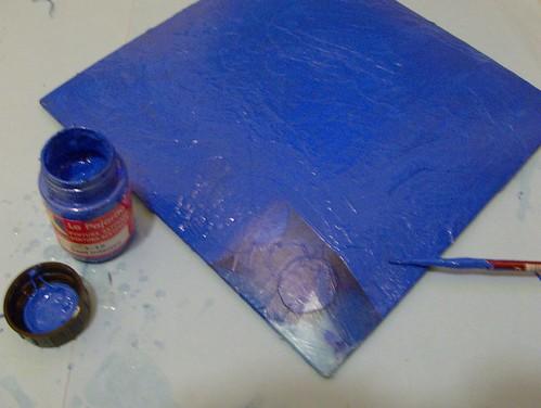 pintar con acrilico
