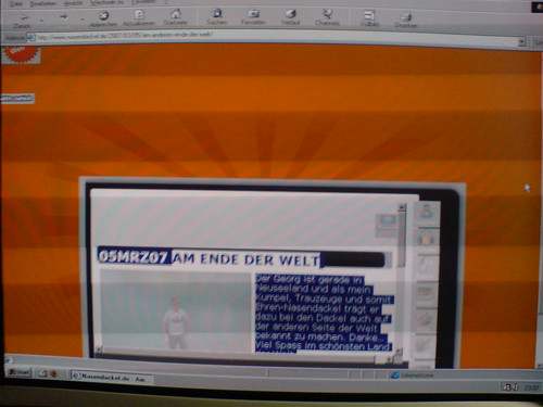 nasendackel.de on Internet Explorer 4
