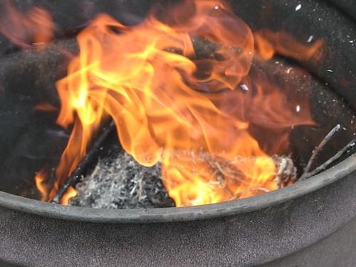 Day 145 - Burning