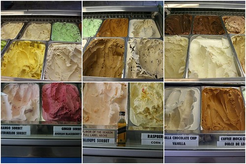 Some of Cones' flavors