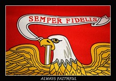 Semper Fi - Always Faithful (Randy Son Of Robert) Tags: red usmc gold eagle flag military marines memorialday semperfidelis
