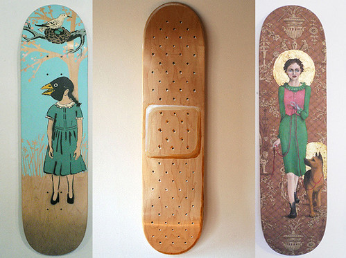 Skate Decks Wall Art Apartment Therapy