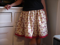 twirly skirt (sew nancy) Tags: sewing polkadots buildingblocks twirlyskirt americanjane houseonhillroad