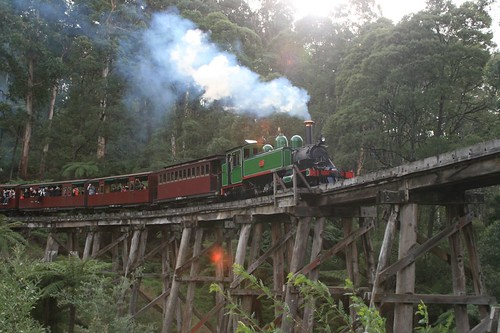 Puffing Billy at Selby