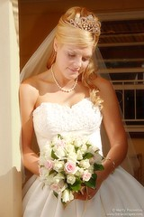 Bride (Marty Pouwelse) Tags: flowers wedding bride dress marriage wowiekazowie