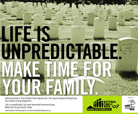 Spend more time with your family!