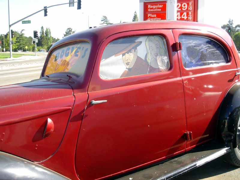 Bogie's car