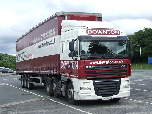 VX12 BYW - Downton Haulage