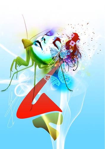 Digital art created by Adrien DONOT - Graphic Design Inspiration