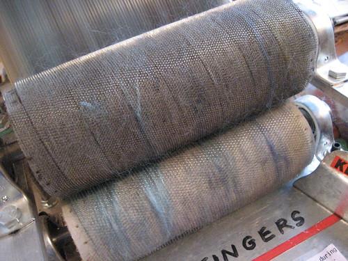 Waste fibers