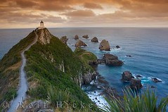 Nugget Point Lighthouse New Zealand (Rolf Hicker Photography) Tags: world ocean travel newzealand lighthouse seascape nature water beautiful landscape photography lighthouses seascapes photos scenic coastal southisland otago kiwi eastcoast naturephotography travelphotography beautifulworld southernscenicroute naturepictures rolfhicker catlilns catlinshighway nuggetpointlighthouse hickerphotocom