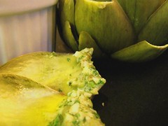 Artichoke and salsa verde