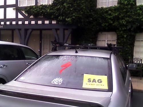 SAG support vehicle