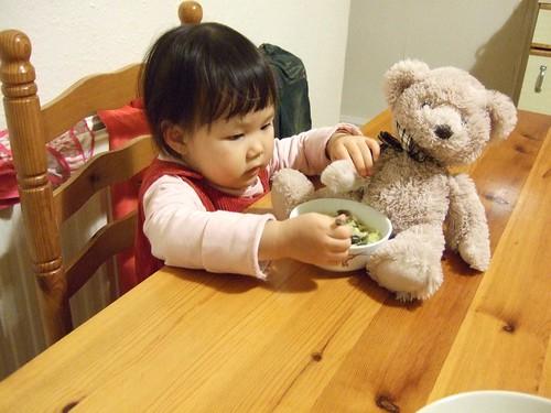 熊熊也要吃