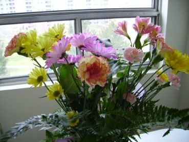 flowers from pete
