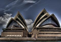 Opera House HDR (alexkess) Tags: house nikon opera sailing sydney australia nsw cbd d200 operahouse hdr 1xp