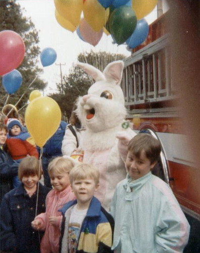 Easter, 1989.
