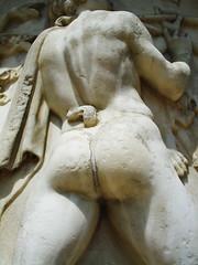 du cul! (Djuliet) Tags: sculpture ass urn garden back tail versailles marble stonethong