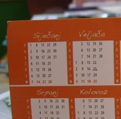 Croatian Calendar