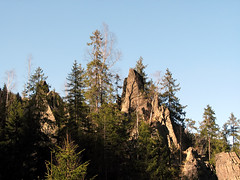 Stone Teeth (sonykus) Tags: cliff mountain forest rocks view peak pines romania birch transylvania gorges transilvania apuseni nyugati erdely somesulrece siebenburgen szoros racatau karpatok westerncarpathians hidegszamos maguri