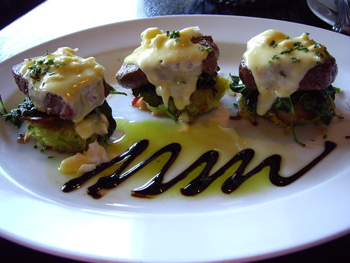 Cameron's Steak Benedict