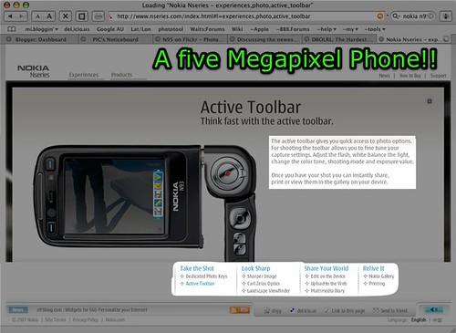 Five Phreakin' Mega-pixels