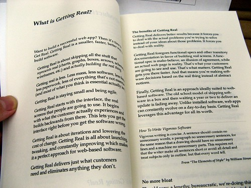 Libro: Getting Real (book)