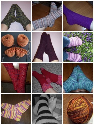 Socks, socks, socks!