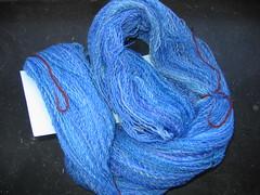 Handspun blue