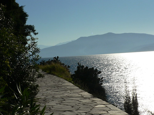 Cliff walk in Nafplio