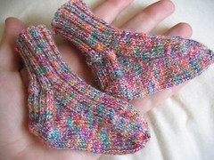 baby socks for Owen