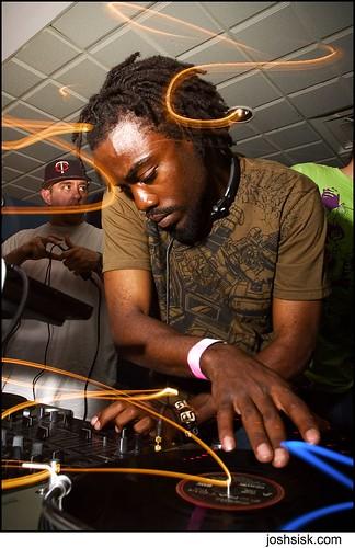 DJ Blaqstarr.