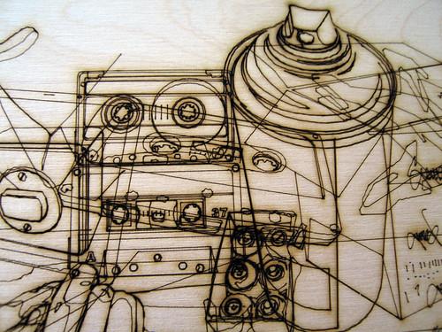 Hyperwerk 033 Lenny Laser cut
