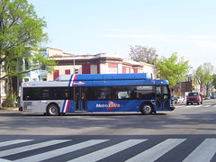 Metro Extra Bus at 9th and Rhode Island Avenue NW