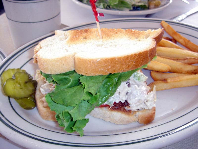 Half Chicken Salad Sandwich