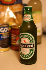 Before the Fight (desbah) Tags: food beer heineken beverage chips snacks nachos cincodemayo 5507 24hoursofflickr