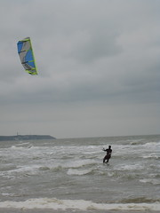 Kite surfing in Wissant
