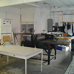 "Studio with Etching Press <a style=""margin-left:10px; font-size:0.8em;"" href=""http://www.flickr.com/photos/7331163@N05/490772323/"" target=""_blank"">@flickr</a>"