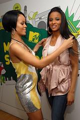 Rhianna and Ciara