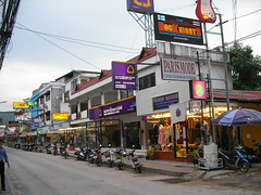 chaweng beach road (soma-samui.com) Tags: road beach thailand island resort samui chaweng        soma  weather0507