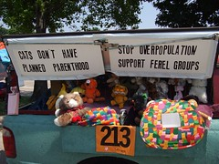 Pet rescue (Hot Nuts a-Flyin') Tags: houston artcars artcarparade