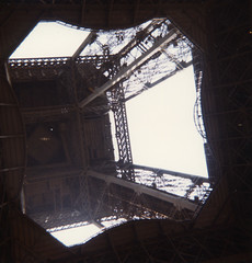 Eiffel Tower, Paris, July 1985
