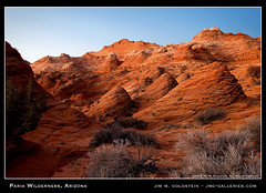 Paria Wilderness, Arizona (jimgoldstein) Tags: red arizona southwest nature rock stone sunrise landscape dawn photo sandstone desert erosion formation geology pariacanyon coyotebuttes vermillioncliffs naturesfinest blueribbonwinner supershot outstandingshots jmggalleries pariacanyonvermillioncliffswilderness anawesomeshot jimmgoldstein sedimentarylayer diamondclassphotographer flickrdiamond