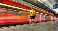 shaken (Toni_V) Tags: motion blur me station topv111 train d50 movement zurich zürich hdr 2007 sigma1020mm photomatix szu selnau 2exp toniv ©toniv
