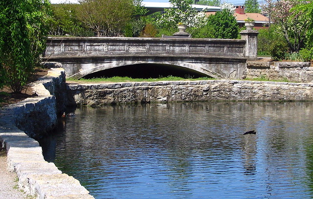 Old bridge at Centennial Park