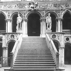 Venice, Italy - Palazzo Ducale di Venezia - Scala dei Gigante