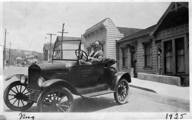 Banks Street south of Jarboe - 1925