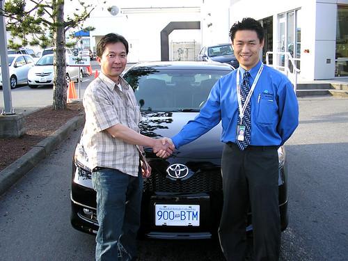Tony Alston|2007 Toyota Camry SE V6 in black